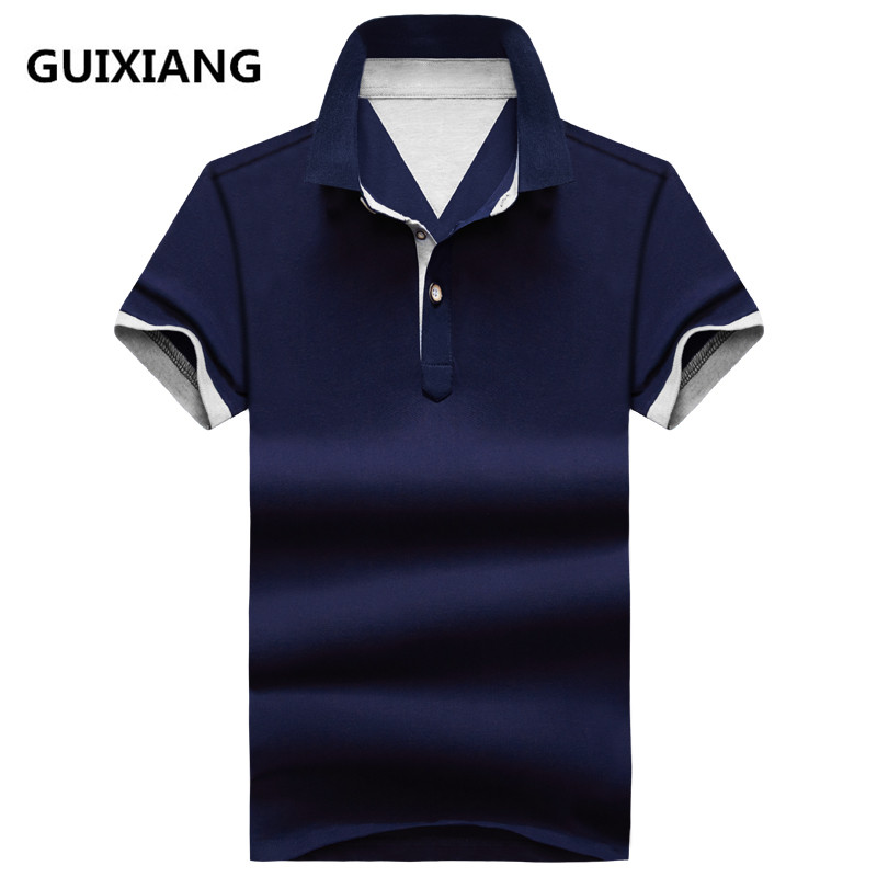 2018 summer new arrival Men's fashion Casual   Polo   shirts Men high quality 95% cotton lapel   Polo   shirts 10 colors to choose