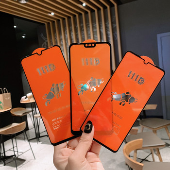 50pcs/lot 111D Full Protective Screen Glass For Huawei P20 P30 Mate 10 20 lite Honor 10 Lite 8C 8X Tempered Glass
