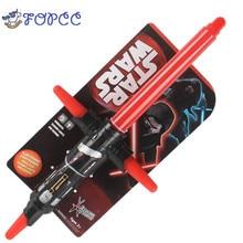 1 PCS Star Wars Laser Pedang Lightsaber Cosplay Masker anak-anak Berkedip Mainan Anak Gadis Hadiah Luminescent Music Telescopic