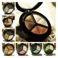 Face Palette Smoky EyesBaked eye shadow three Shade in a Palette Baked EyeShadow delicate bronzers highlighters