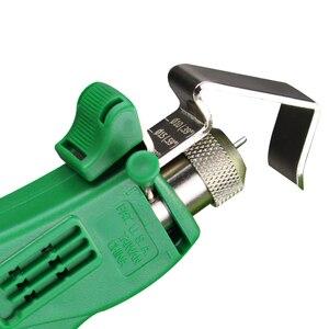 Image 3 - LAOA metalowy kabel obrotowy Barker narzędzie do usuwania izolacji Patchcord narzędzie do usuwania izolacji szczypce do ściągania izolacji szczypce szlifierskie