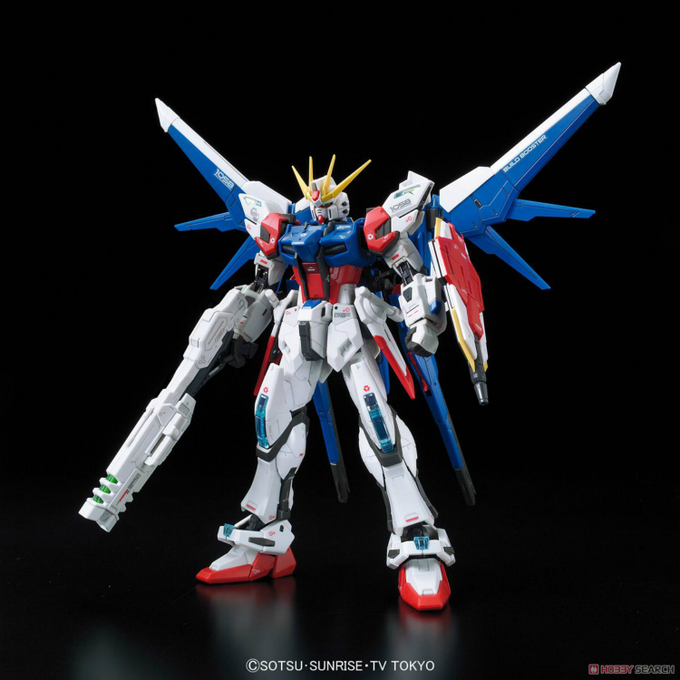 1pcs Bandai RG 23 1/144 Build Strike Gundam Full Package GAT-X 105B/FP Mobile Suit Assembly Model education toys Gunpla juguetes bandai bandai gundam model sd q version bb 309 sangokuden wu yong bian xiahou yuan battle