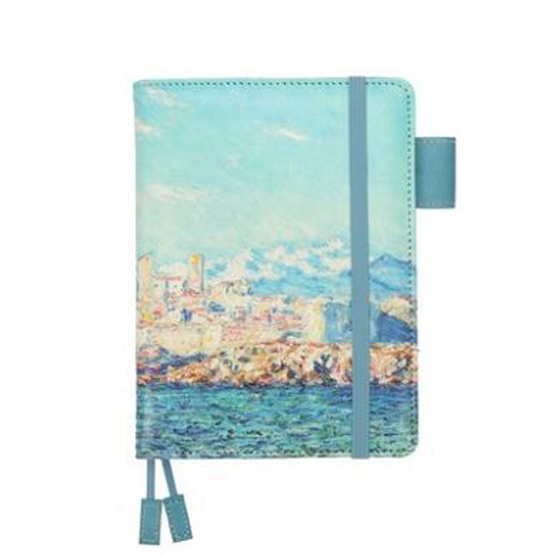 2018 Yiwi  Arts Themes A6 PU Notebook Cover Cute Japanese Hobo Covers DIY Journal Book Covers Fashion Stationery 2017 ten light color hobo japanese light amount notes the books envelope contain within core general purpose student notebook