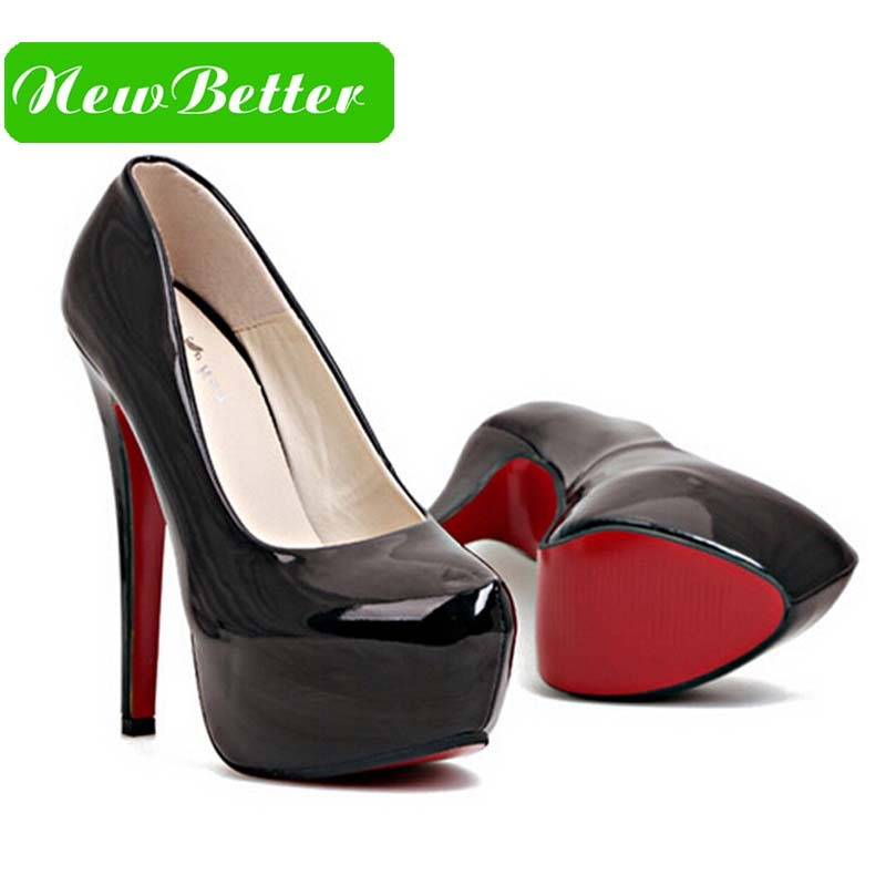 black platform heels with red sole spiked louboutin christian