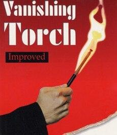 Behendig Auto-lit Vanishing Torch, De Gratis Verzending, Kaart Magie, Fire Magische Magische Truc Klassieke Speelgoed Compleet In Specificaties