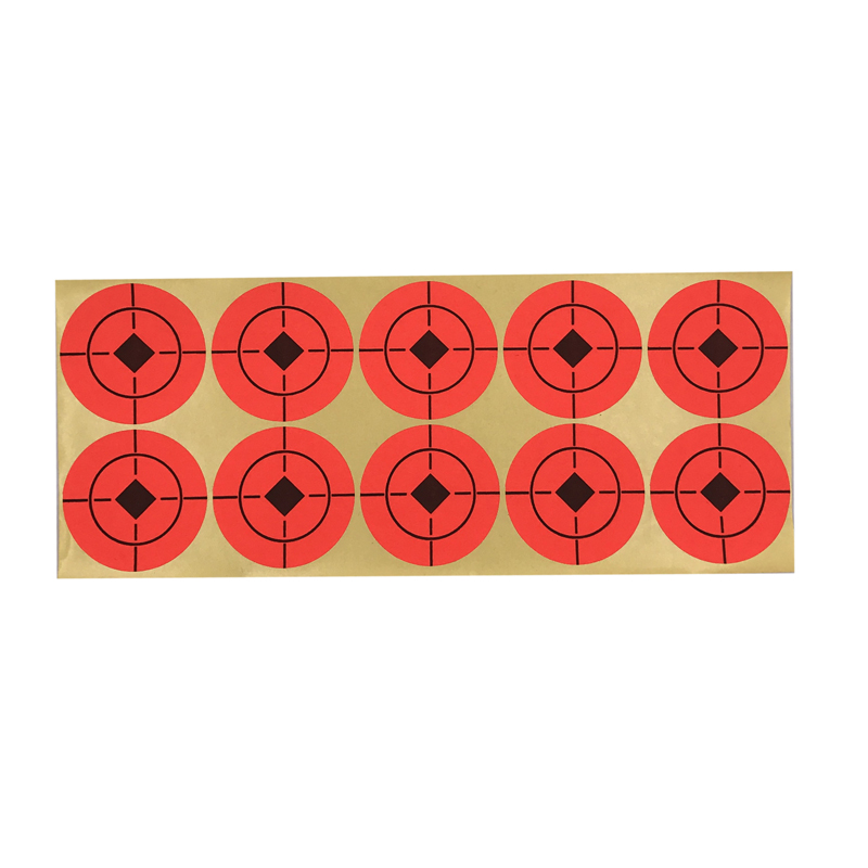 Tactical 500PCS with 2-inch orange self-adhesive target sticker turning anything into a target Suitable for all types of