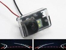 цена на Trajectory Tracks Fisheye Car Rear view Camera for Peugeot 206 207 306 307 Sedan 308 406 407 5008 Partner Tepee Reverse Camera
