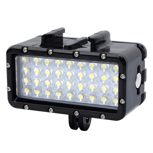 For Dji GoPro Underwater Light Diving waterproof LED light For GoPro Hero8 7 5 6 4 Max Session Xiaoyi 4k Osmo Action Accessories