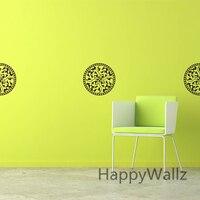 DIY Damask Wall Sticker Decorative Flower Wall Decal Vinyl Wall Art Modern Decors Mural Wallpaper P58