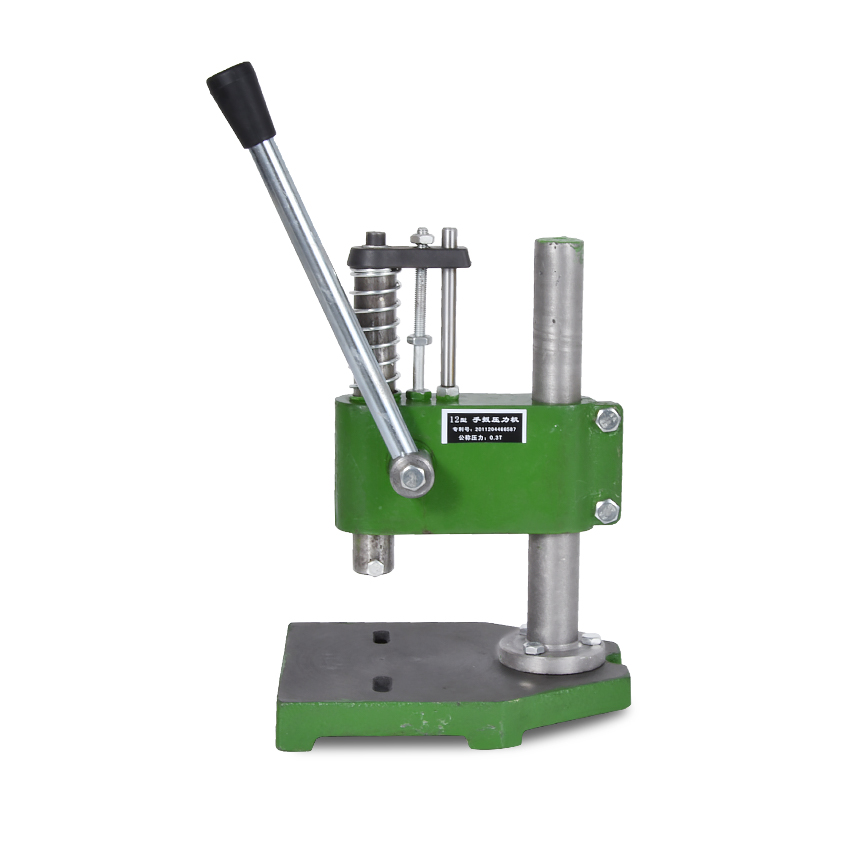цена New 0.3 Ton Manual Punch Hand Presses Manual Punching Machine Manual Press ,Worktable 165*215mm ,Work trip 35mm ,Column 260mm