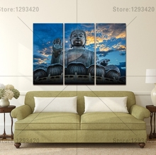 5D diamond embroidery square sets full decorative diy painting religion Buddha 3pcs cross stitch