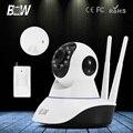 BW Ip-камера 720 P HD Wi-Fi Smart P2P Крытый ВИДЕОНАБЛЮДЕНИЯ Системы Безопасности, Видеонаблюдения, Мини-Беспроводные Камеры Инфракрасный Датчик Детектора Тревоги