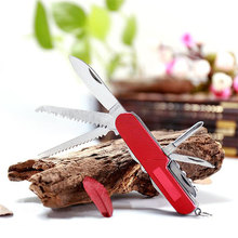 11 in 1 Stainless Steel Folding Swiss Knife For Camping Outdoor Survival Tool Set Multifunction Durable Portable Pocket Compact