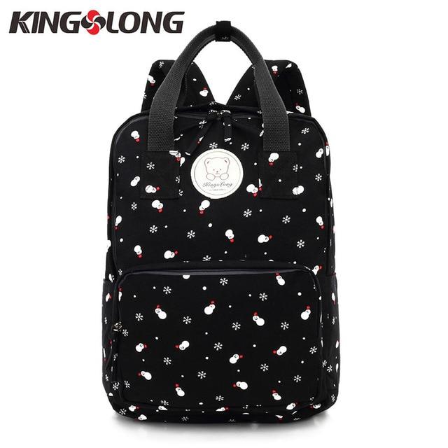 Aliexpress.com : Buy KINGSLONG School Women's Backpacks for Girls ...