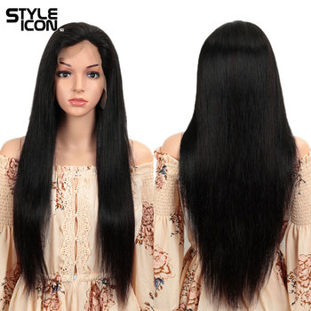 Straight Human Hair Wigs 4X4 Lace Wig 26 Inch Straight Human Hair Wigs Lace Front Human Hair Wigs For Black Women Styleicon Hair