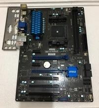 Для MSI A88X-G41 ПК Mate Original Used Desktop Материнских Плат Для ПЛАТФОРМЫ AMD A88X Для Socket FM2 + DDR3 SATA3 USB3.0 ATX