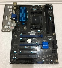 For MSI A88X-G41 PC Mate Original Used Desktop Motherboard For AMD A88X For Socket FM2+ DDR3 SATA3 USB3.0 ATX