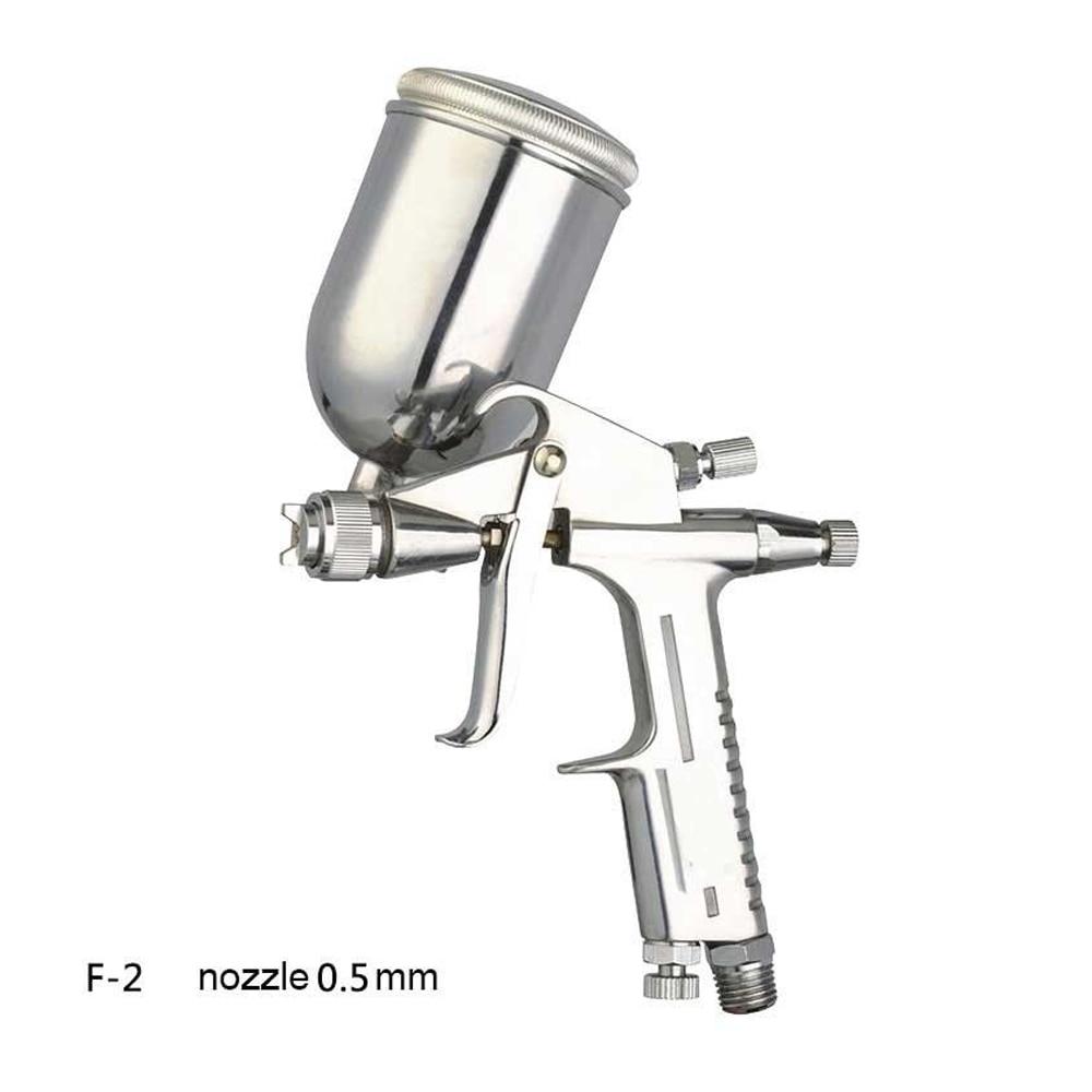 0.5mm Professional Mini Airbrush Spray Gun Airless Aerografo Sprayer Alloy Leather Painting Paint Tool Pistola-in Spray Guns from Tools on