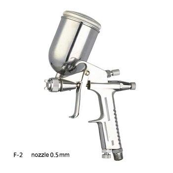 0,5mm profesional Mini del aerógrafo aerosol Pistola sin Aerografo del rociador de cuero de aleación pintura herramienta de pintura Pistola