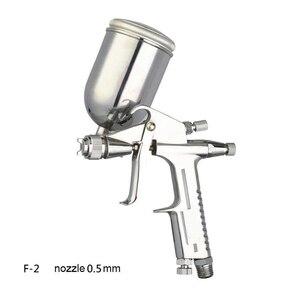 Image 1 - Профессиональный мини Аэрограф WENXING 0,5 мм, распылитель аэрографа без воздуха, инструмент для покраски кожи и сплава