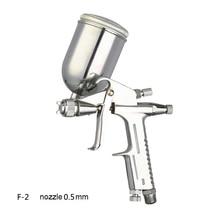 WENXING 0,5mm Professional Mini Airbrush Spritzpistole Airless Aerografo Sprayer Legierung Leder Malerei Malen Werkzeug Pistola