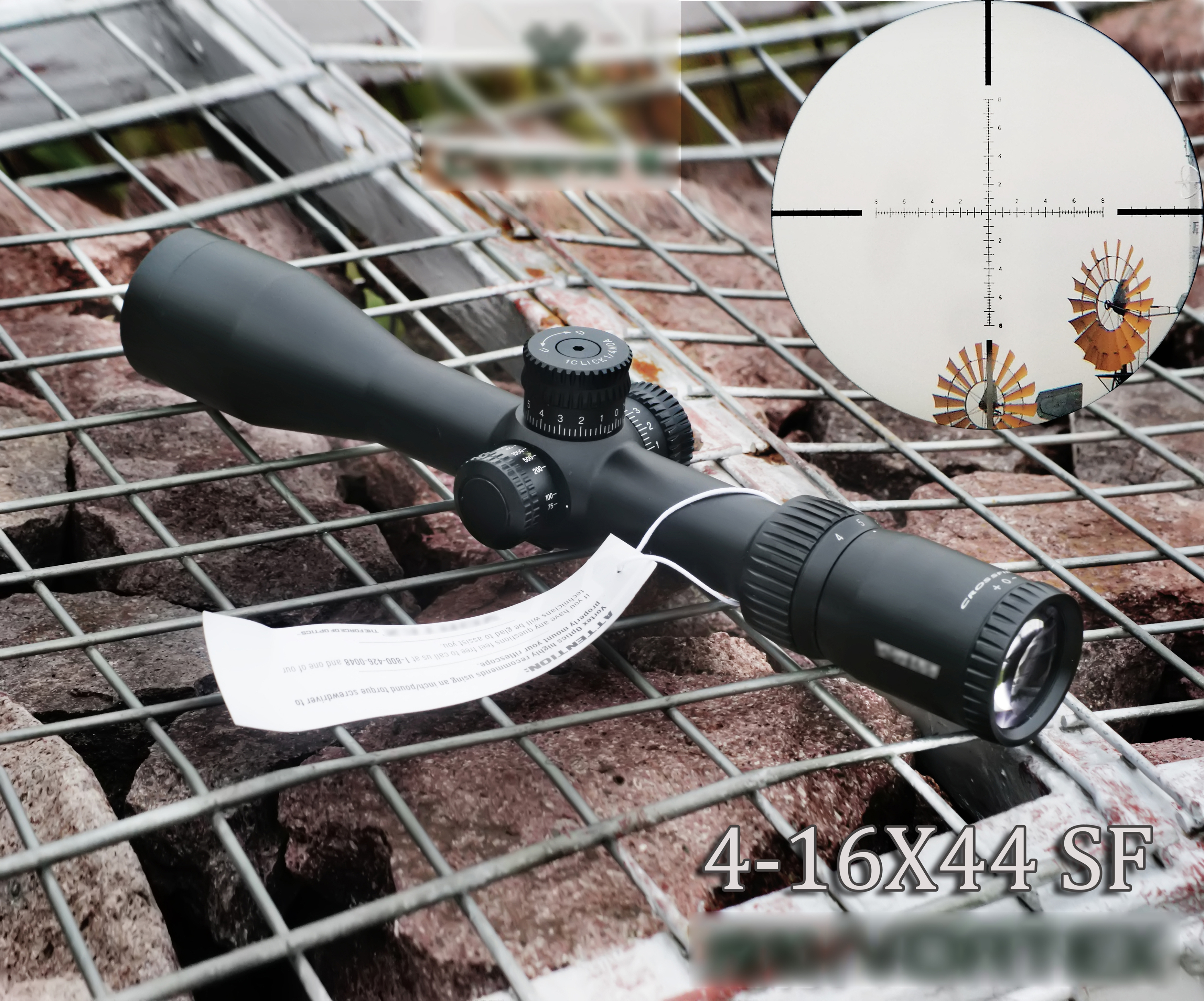 VOTEXe 4-16X44 SF  Compact Riflescope Hunting Optical Sight Sniper Tactical Airgun Rifle Scope Fit .308win