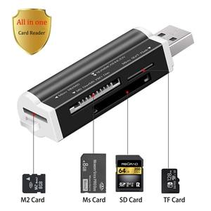 USB 2.0 Micro SD Card Reader f