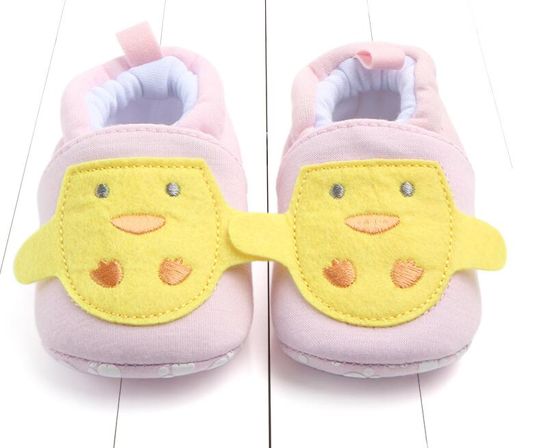 5 colors sweet Newborn Baby Infant cotton shoes 0-18M Boys Girls winter Fashion Shoes soft soled First Walker Cack Shoes
