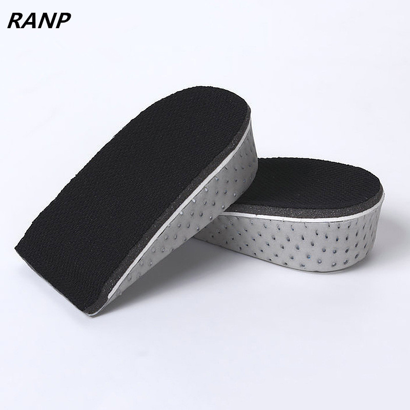 Shoe Insoles Breathable Half Insole Height Heel Insert Sports Shoes Memory Foam Cushion Unisex Height Increase Insoles Sole Pad christmas horn button hooded handkerchief coat