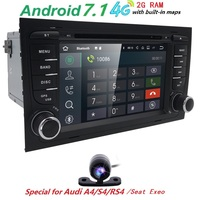 Quad Core 7 2 Din Car Autoradio Gps Android Car Multimedia Player For Audi A4 S4