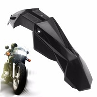 Motorcycle Replacement Black Plastic Modified Front Mudguard For Fender For Honda For Yamaha For Kawasaki For