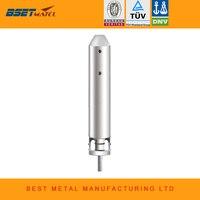 Mirror Polish Duplex 2205 Round Core Drill Spigot For Frameless Glass Swimming Pool Fencing Balustrade Handrail