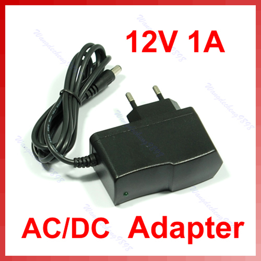 New <font><b>12V</b></font> 1A AC DC Plugtop Power Adapter Supply <font><b>1000mA</b></font> image