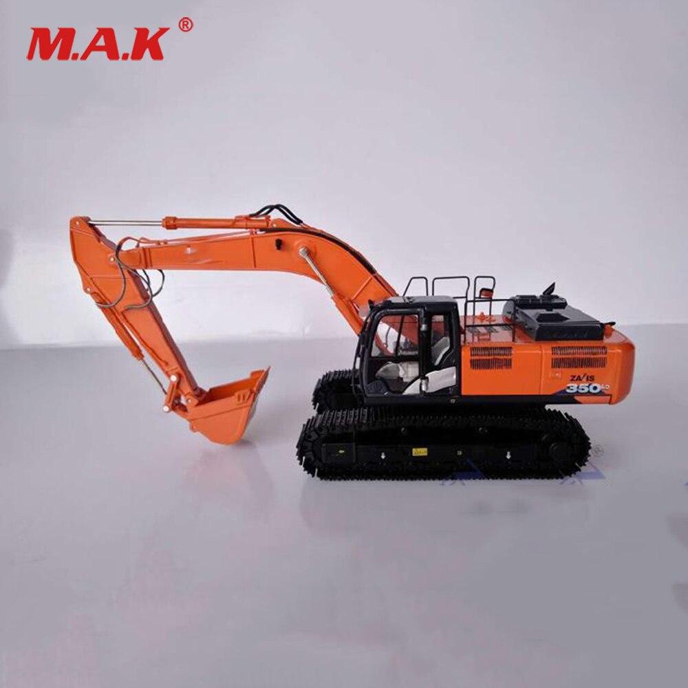 Collectible Modelo Veículos de Construção de Brinquedos 1/50 Escala ZX350-6 Escavadeira Brinquedos para Os Fãs Do Presente Do Feriado