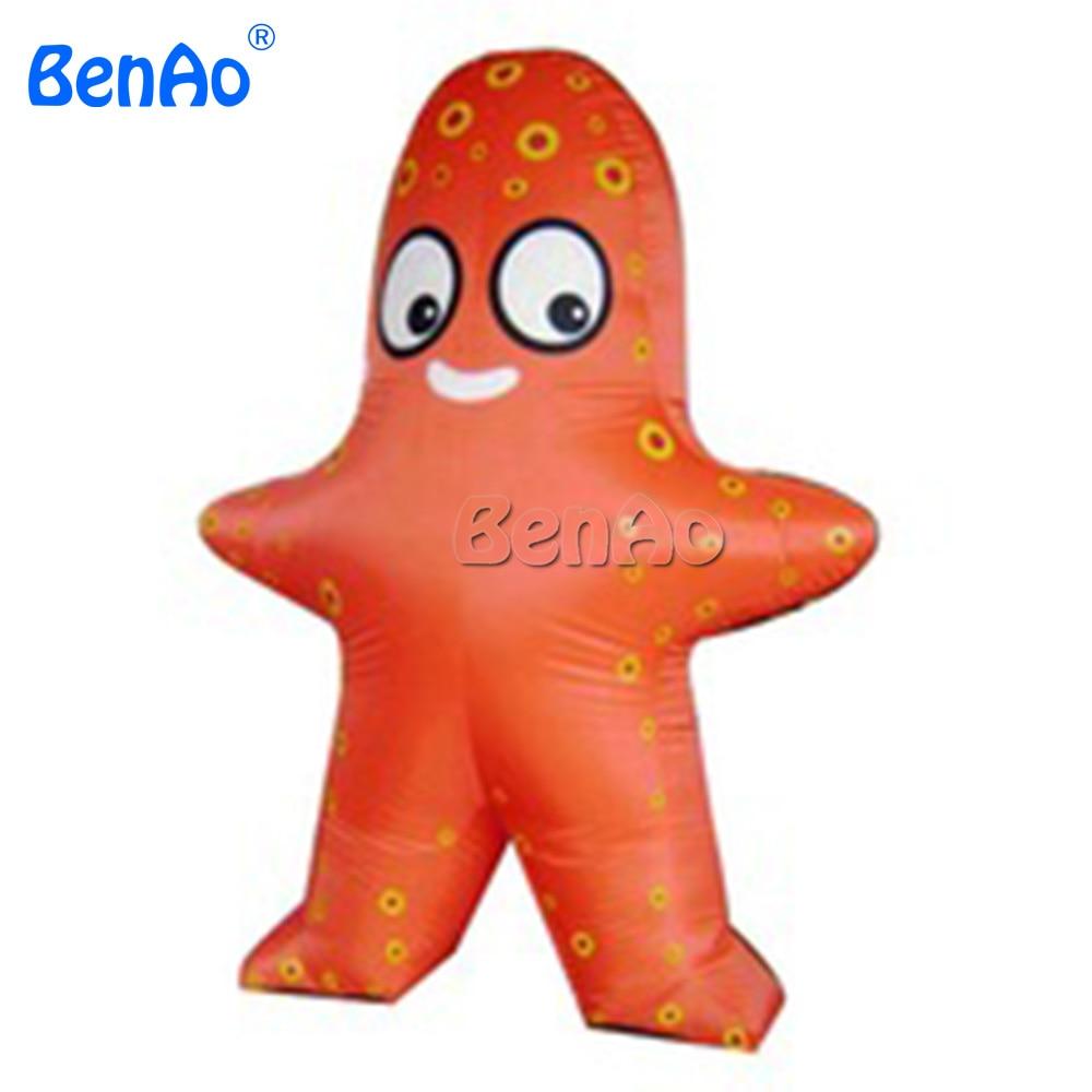Ac139 benao Бесплатная доставка пользовательские гигантские надувные звезды, гигантские надувные реплики, надувной шар всплывающей рекламы