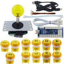 Arcade DIY Kit LED Arcade LED Button Controller Joystick Zero Delay Encoder Board for PC PS3 Mechanical Keyboard Switch цена и фото