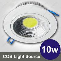 LOTE 10X Chipset de Dimmable 10 W COB LEVOU Teto Baixo Luminária Lâmpada Quarto 900LM