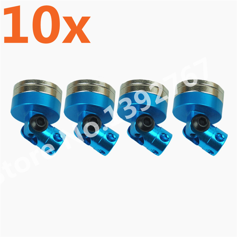 10Sets Lot RC Car Drift Remote Control Shell Strong Magnet Stealth Body Post Contact Shell Column