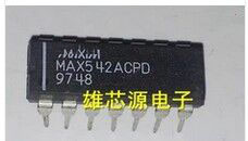 IC new original MAX542ACPD MAX542 DIP14 Free Shipping in six schmidt sn74hc14n dip14 new and original ic free shipping