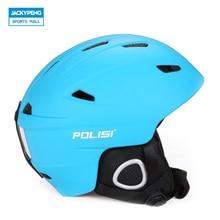 POLISI Winter Ultralight Ski Helmet Men Women Snow Skateboard Extreme Sport Saftly Helmet Snowboard Skiing Equipment Capacete