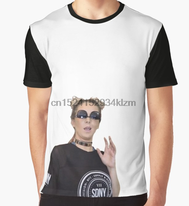 059645f4be8 Detail Feedback Questions about All Over Print T Shirt Men Funy tshirt Jenna  Marbles Screencap Short Sleeve O Neck Tops Tee women t shirt on  Aliexpress.com ...
