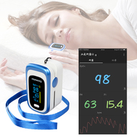 ELERA Bluetooth Finger Pulse Oximeter SPO2 PR PI Oximetro De Dedo Blood Oxygen Saturation Pulsioximetro Health Care