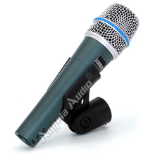 Free Shipping Quality BETA57 Professional BETA57A Supercardioid Karaoke Handheld Dynamic Wired Microphone Beta 57A 57 A Mic Mike
