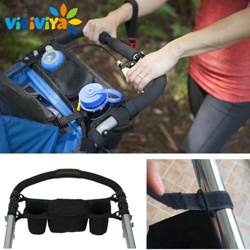 Baby Stroller Organizer Baby Prams Carriage Bottle Cup Holder Bag for Pram Baby Stroller Accessories Wheelchair Bag