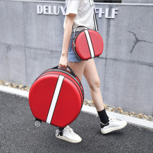 "CARRYLOVE 1"" дюймов spinner carry on женский милый чемодан кабина девушки Чемодан-тележка сумка с колесами"