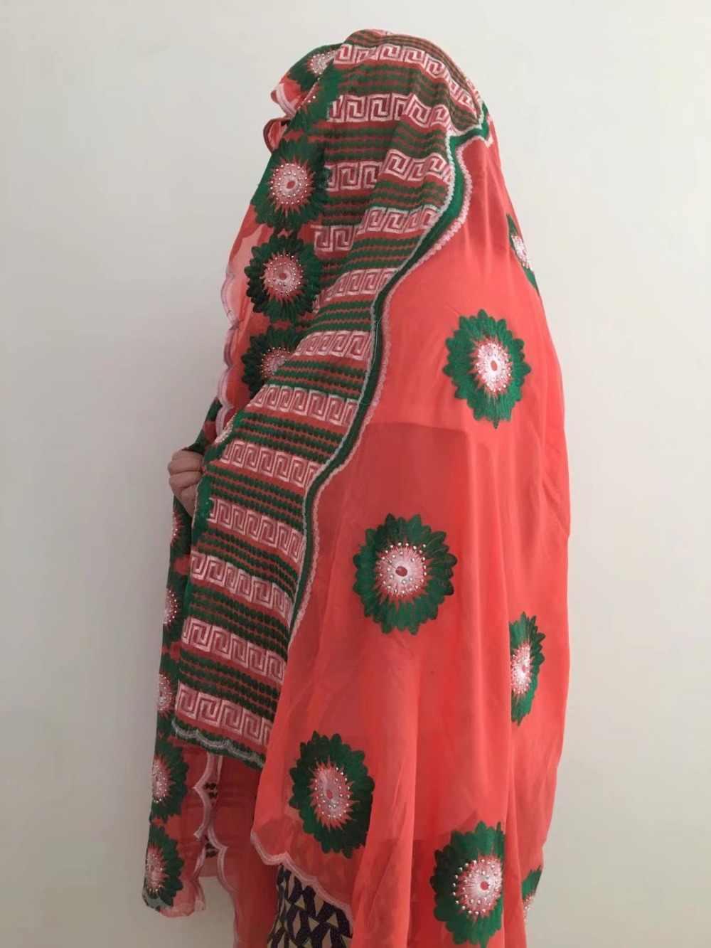 Headties הניגרי gele ראש כורכת נשים צעיף עם אפריקאית אבנים שיפון טול תחרה סיטונאי לנשים 3 יחידות\חבילה JFX-18