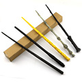 7pcs/set Magic Wand original Cosplay Toys Magical Wand Stick  Plastic Metal magic wand accessory For gift with box