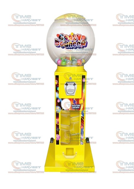 US $328 0 |High Quality Coin operated Slot Machine for Candy Vendor Big  Capsule Upright Vending Machine Bulk penny in the slot Coin Vendor-in Coin