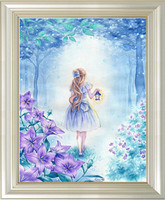 diamond embroidery painting beauty girls square diamond full mosaic cross stitch diy diamond paint for children