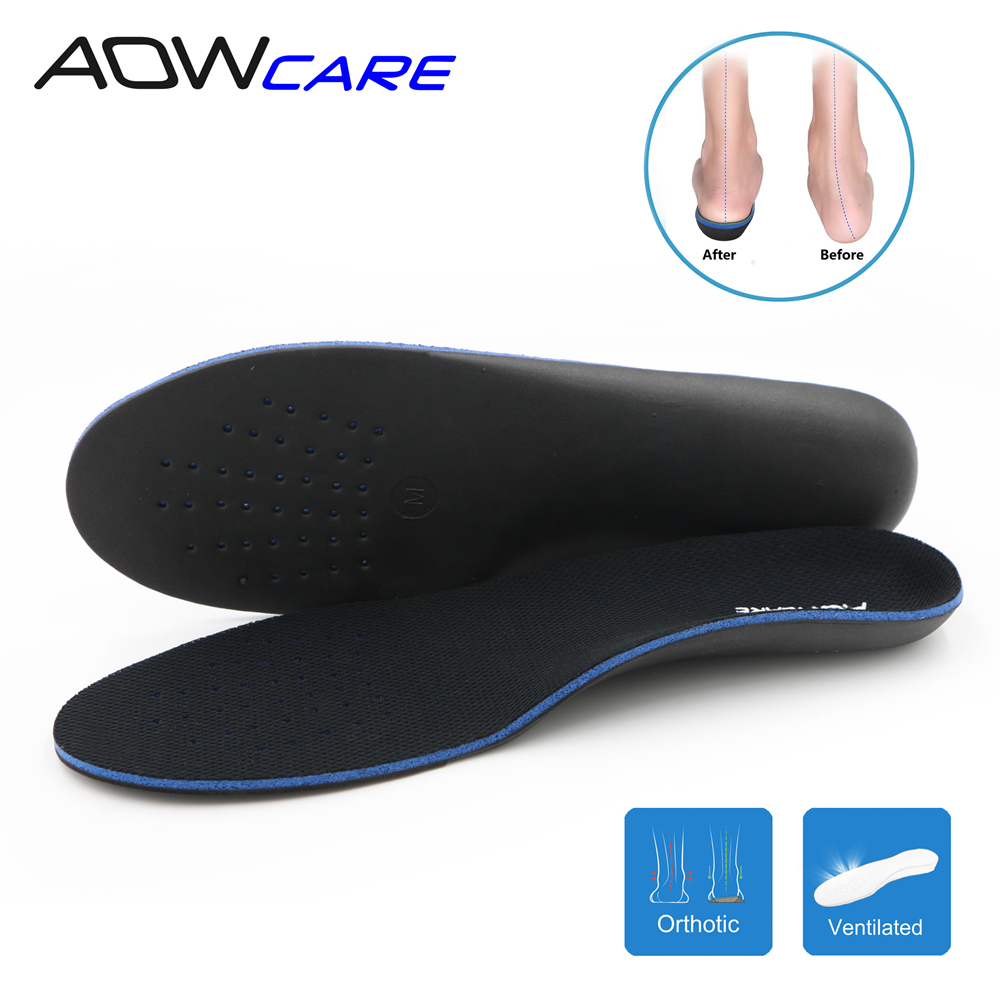 Orthopedic insoles for flat foot arch supports orthotics inserts for man and women feet care shoes cushion pad Plantar Fasciitis